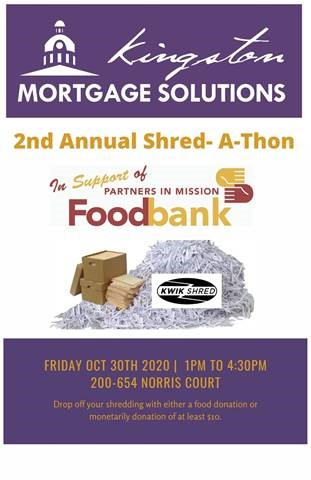 Shred-A-Thon October 30, 2020