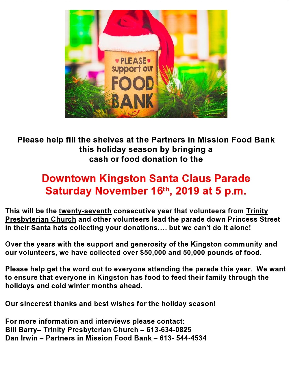 27th Annual Santa Claus Parade